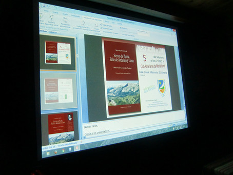 """Presentación del libro """"Recorridos por el Paisaje de las Sierras de Huma, Abdalajís y Llana&quo"""