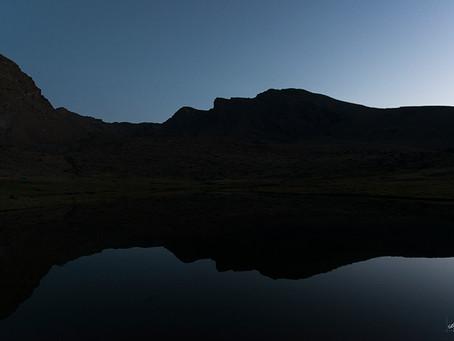 7 lagunas. Sierra Nevada.