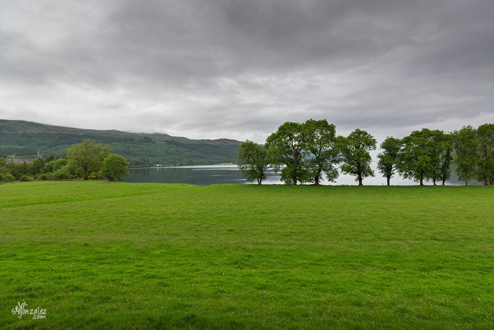 Lago Ness, cerca de Fort Augustus.
