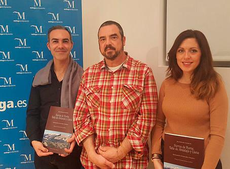 Presentación del libro en la Sala Oyarzábal, Diputación de Málaga.