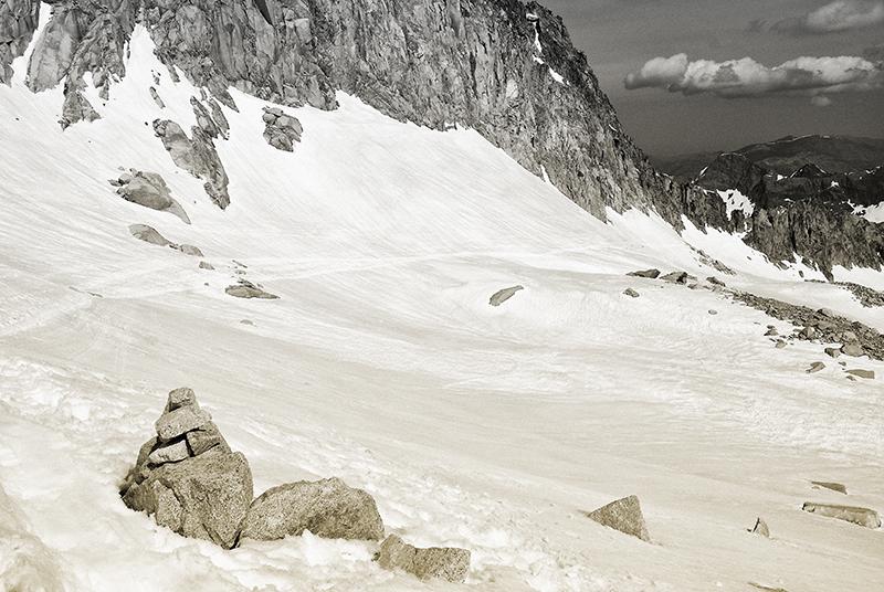 Glaciar del Aneto.
