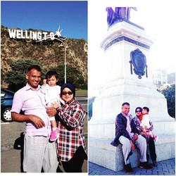 A gorgeous family from Malaysia. Happy wedding aniversary Mr & Mrs Hossain
