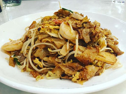 Kwetiaw is flat rice noodle. One of favorite foods in Indonesia, Malaysia, Singapore and Thailand. O