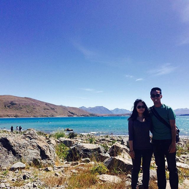 From Singapore, they came down for honeymoon adventure in South Island