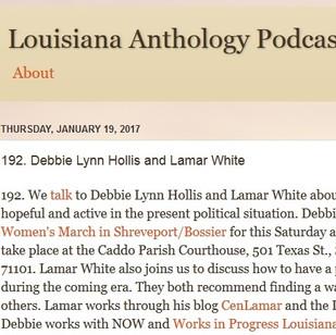 Louisiana Anthology Podcast - January 2017