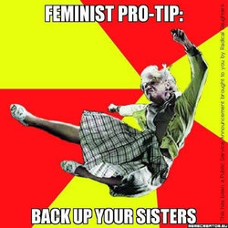Back up your sisters!