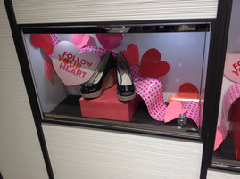 """""""Follow Your Heart"""" Valentine's Day Shoe Campaign"""