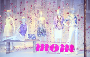 Mother's Day Campaign Windows