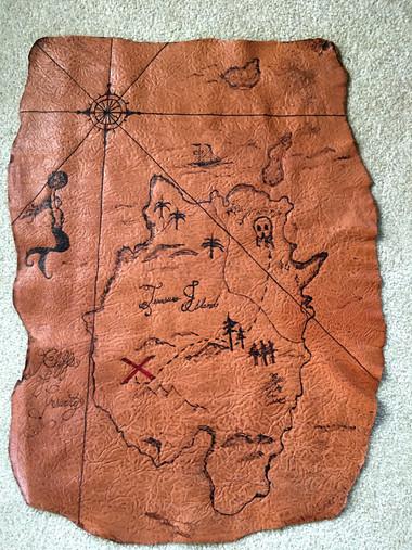 Buried Treasure Map