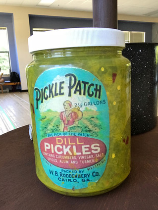 Pickle Relish Jar