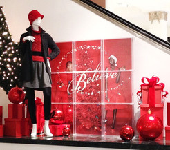 """""""Believe"""" Holiday Campaign Display"""
