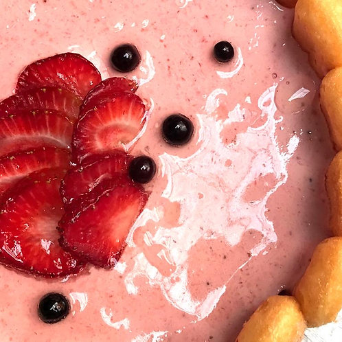 Torta Carlota de Fresa, Postre Frances Medellin, Postre Frances, Patisserie Francaise, mejor postre frances, meilleur dessert