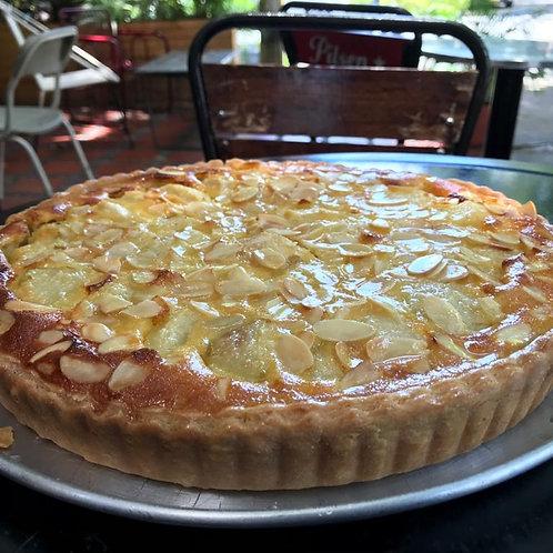 Torta de Pera Almendras, Postre Frances Medellin, Postre Frances, Patisserie, mejor postre frances, meilleur dessert Medellin