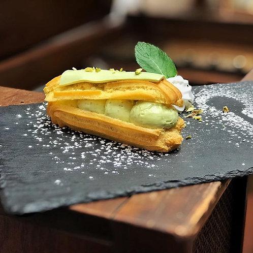 Rayo de Pistacho, Postre Frances Medellin, Postre, Patisserie Francaise, mejor postre frances, meilleur dessert Medellin