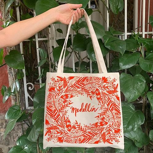bolsa, Te amo medellin, Medellin regalo,turismo medellin, eco friendly gift, disenadora local, Lindsay Chandler