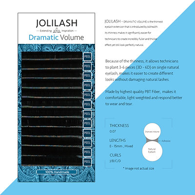 Dramatic Volume Thickness 0.07mm