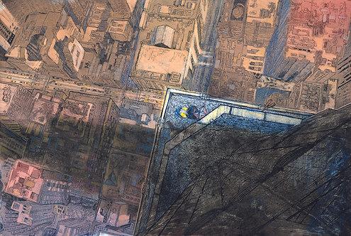 vertigo:empire state: NYC