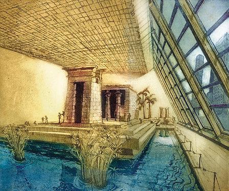 temple of dendur: Met, NYC
