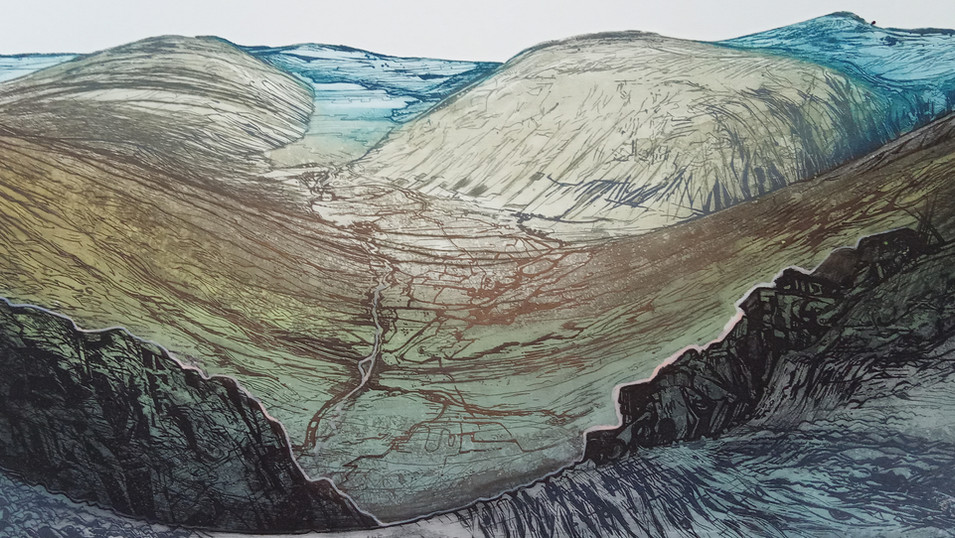 great gable from honister pass