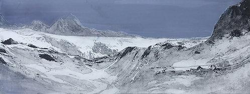 snow mountain: norway