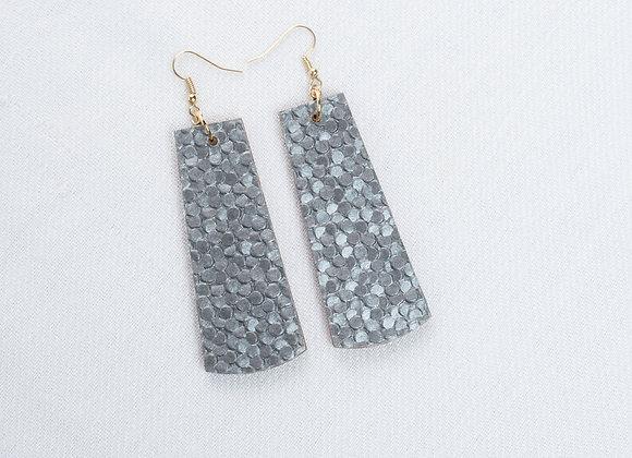 Grey Pebble Rectangle