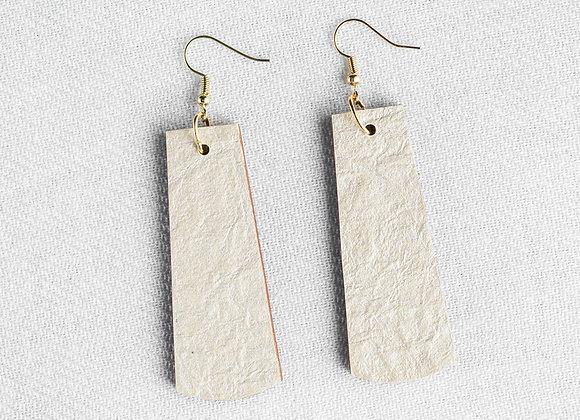 Ivory Rag Paper Rectangle