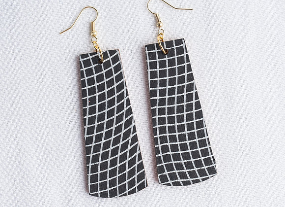 Black Grid Rectangle