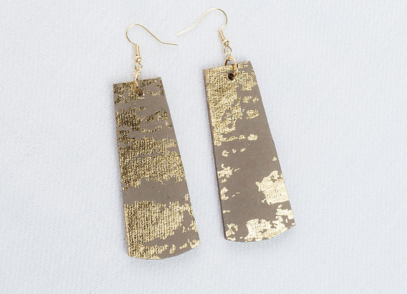 Grey and Gold Rectangle