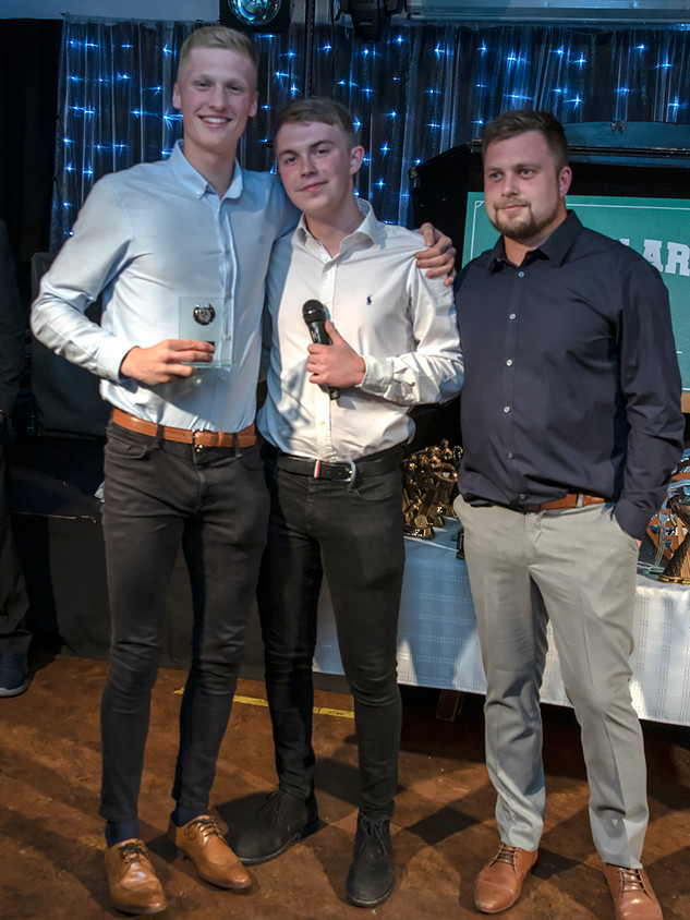 05 Under 18 Players Player of the Year Jacob Brooks McScully