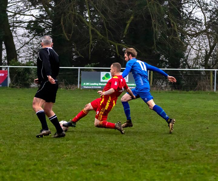 Peasedown Albion 1 V 3 Wells City A_16_25th January 2020
