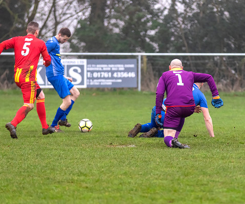 Peasedown Albion 1 V 3 Wells City A_23_25th January 2020