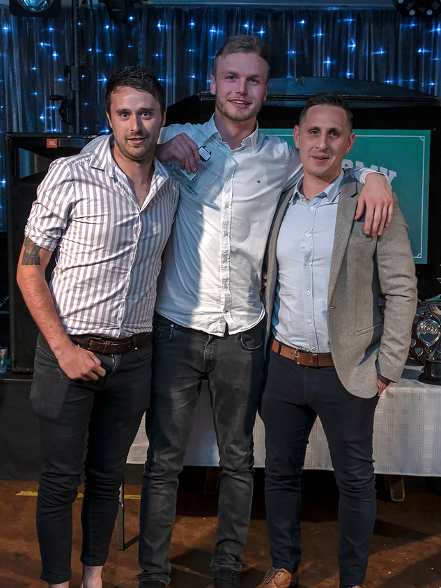 10 Reserves Players Player of the year Jed Benjamin