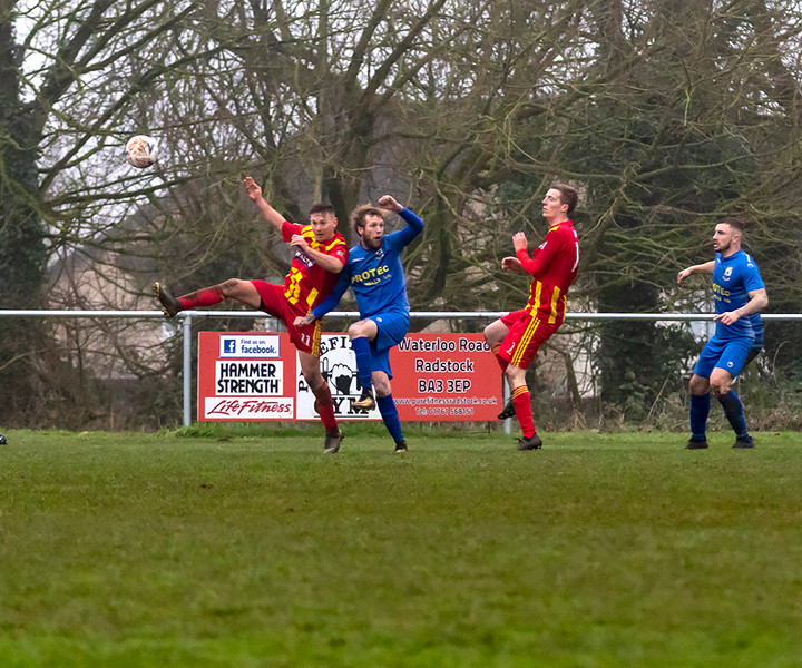 Peasedown Albion 1 V 3 Wells City A_20_25th January 2020