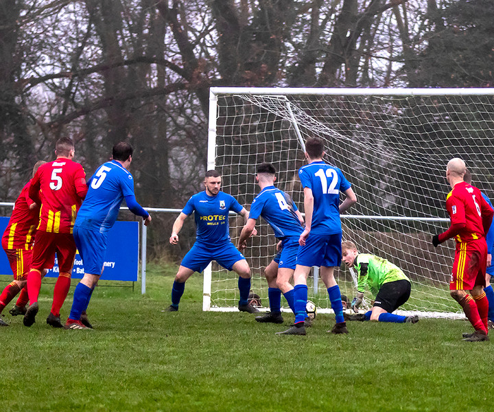 Peasedown Albion 1 V 3 Wells City A_18_25th January 2020