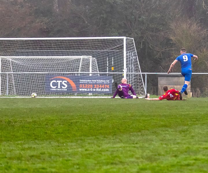 Peasedown Albion 1 V 3 Wells City A_03_25th January 2020