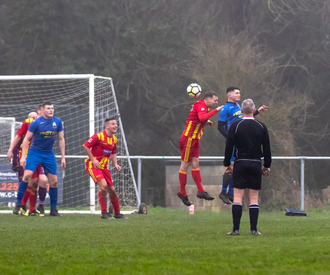 Peasedown Albion 1 V 3 Wells City A_04_25th January 2020
