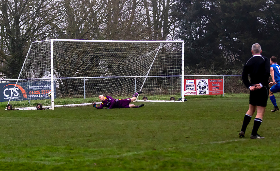 Peasedown Albion 1 V 3 Wells City A_11_25th January 2020