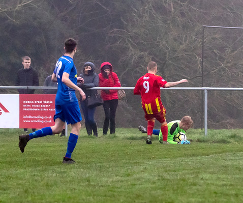 Peasedown Albion 1 V 3 Wells City A_13_25th January 2020