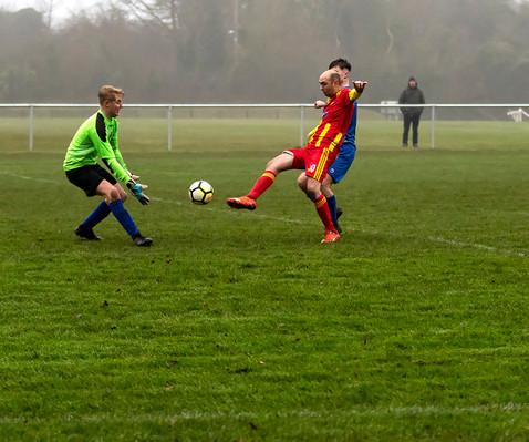 Peasedown Albion 1 V 3 Wells City A_05_25th January 2020