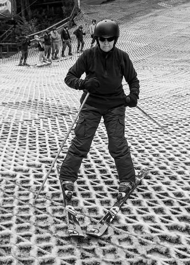Down Hill Skier