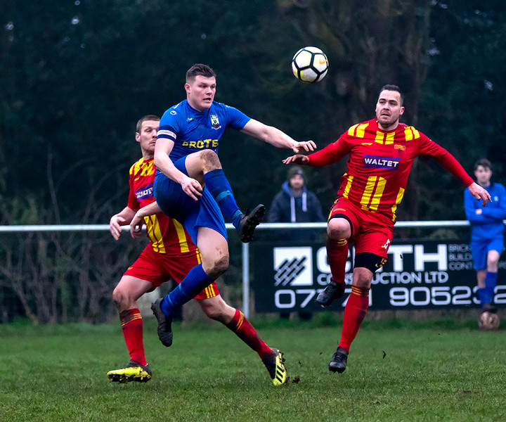 Peasedown Albion 1 V 3 Wells City A_08_25th January 2020
