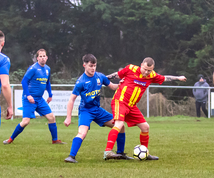Peasedown Albion 1 V 3 Wells City A_28_25th January 2020