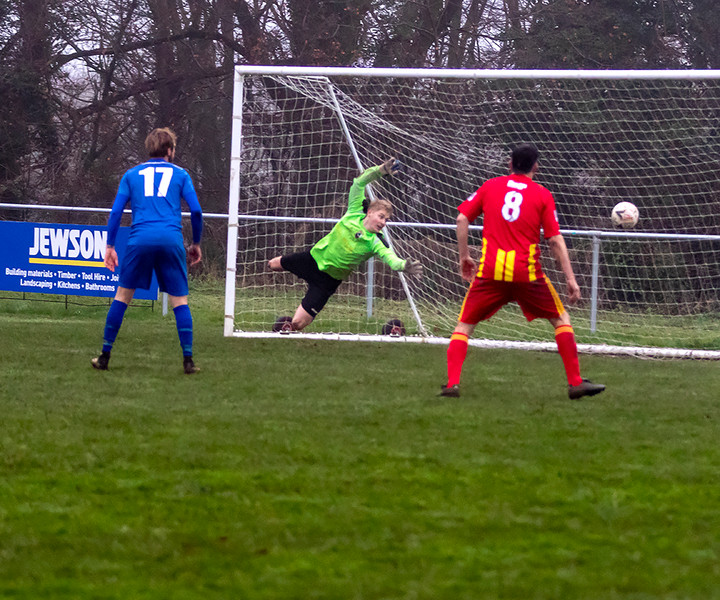 Peasedown Albion 1 V 3 Wells City A_19_25th January 2020