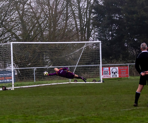 Peasedown Albion 1 V 3 Wells City A_10_25th January 2020