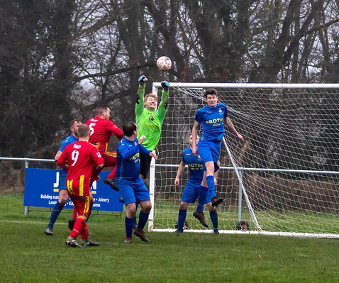 Peasedown Albion 1 V 3 Wells City A_21_25th January 2020