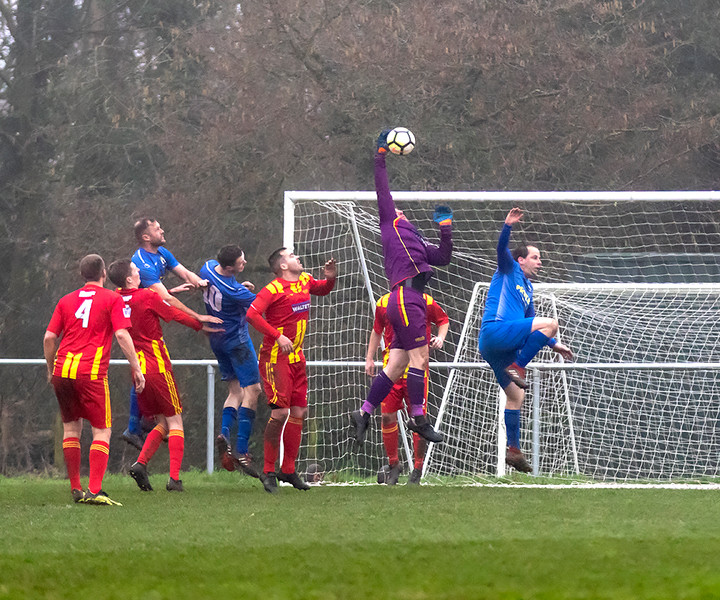 Peasedown Albion 1 V 3 Wells City A_22_25th January 2020