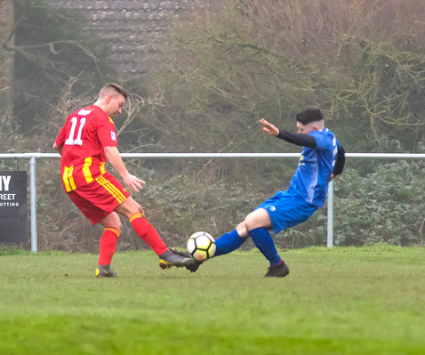 Peasedown Albion 1 V 3 Wells City A_25_25th January 2020