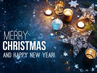 Vrolijk kerstfeest en gelukkig nieuwjaar!