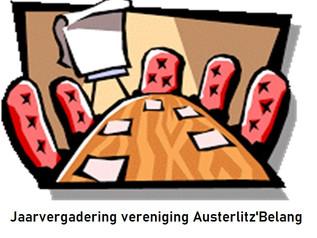 Jaarvergadering vereniging Austerlitz'Belang 31 maart