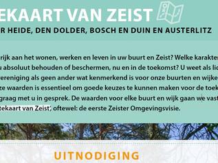 Uitnodiging ruimtekaart omgevingsvisie gemeente Zeist